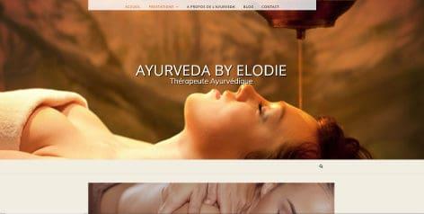 Site Ayurvedabyelodie.fr
